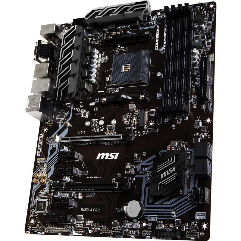 Carte Black Cmb.Cm Msi B450 A Pro